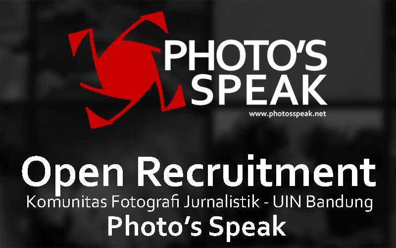 open recruitment photosspeak